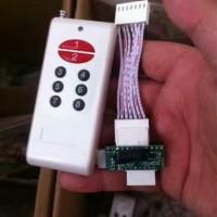 美国内置式地磅遥控控制器