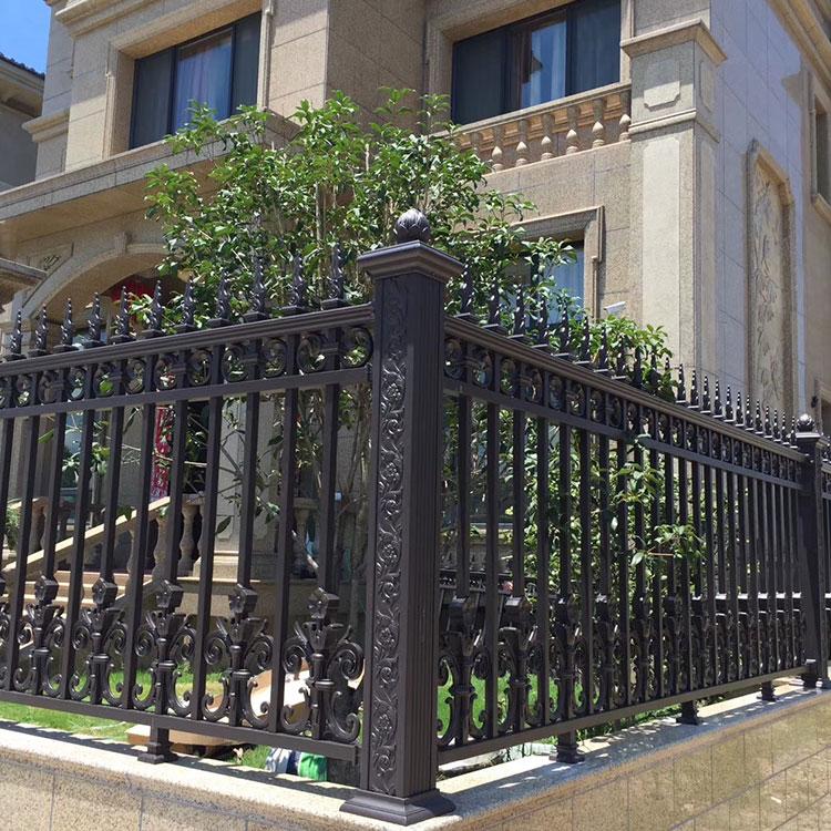 阳台栏杆-铝艺护栏-别