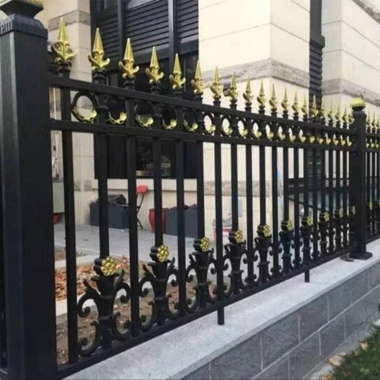 园区铁艺护栏隔离网 别墅铝艺护栏