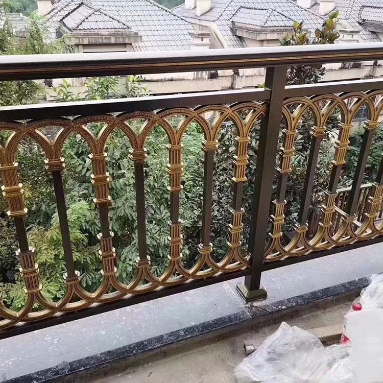 高档别墅围栏 阳台铝