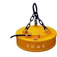 MW5系列吊运废钢用起重电磁铁 废钢磁选机厂家