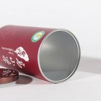 供应生产 纸罐 瓜脯核桃仁可可粉等圆形外包装纸筒