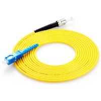 胜为单模光纤跳线,插损小,传输稳定,精工研磨,稳定好用!