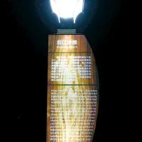 微光能景观广告灯-夜夜明一体化太阳能能广告灯