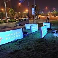 夜夜微光能广告灯-免接线一体化智慧广告灯工程案例