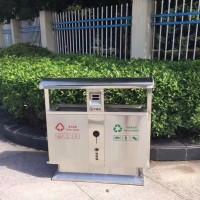 垃圾桶,金发塑料垃圾桶,小区分类专用