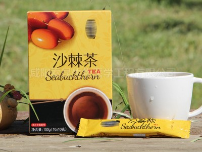 盒装固体饮料代加工沙棘茶批发OEM定做