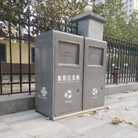 智能分类雷火电竞平台登录 太阳能压缩垃圾箱垃圾分类垃圾箱厂家直销