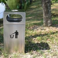 不锈钢户外垃圾桶物业公园小区街道酒店环卫垃圾筒果皮箱厂家