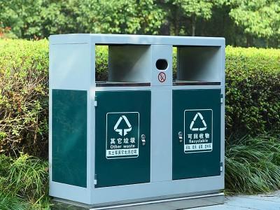 户外垃圾桶 室外环卫果皮箱 公园户外分类垃圾桶