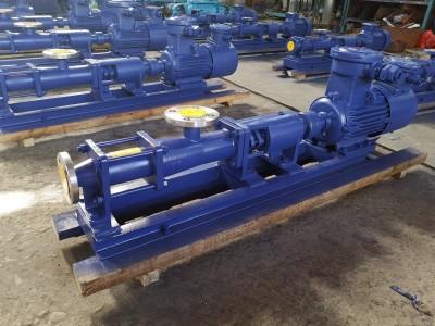 卫生螺杆泵 电动螺杆泵  螺杆泵生产商  品能螺杆泵配件厂