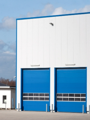 钢制复合式防火卷帘门