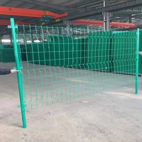 【性价比高】双边丝折弯护栏网围栏网【使用寿命长】