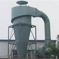 旋风除尘器的结构简单、紧凑、占地面积小、造价低