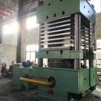 2000T双缸四柱式多层高分子材料热压机