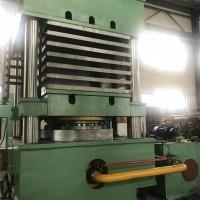 2000T双缸四柱式高分子材料热压机