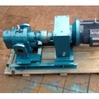 罗茨泵带保温夹套,可通保温蒸汽或导热油对泵保温