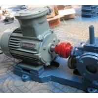 LQB沥青保温泵,分皮带传动和齿轮减速器驱动两种形式