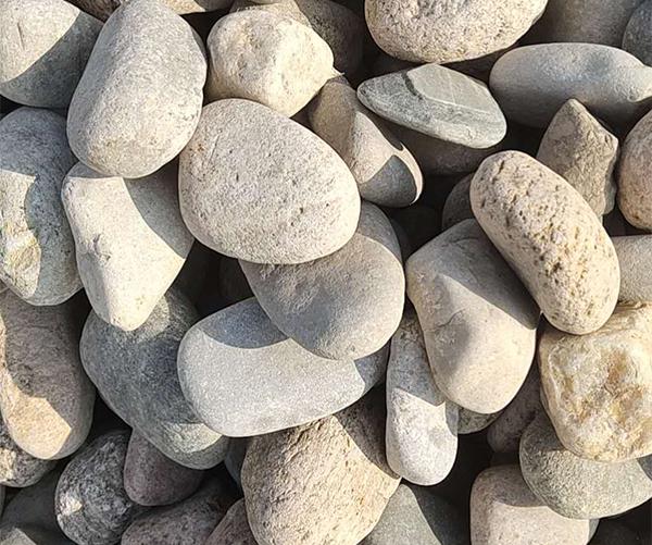 邢台3-5公分鹅卵石 切片鹅卵石批发 邢台冀磊厂家现货